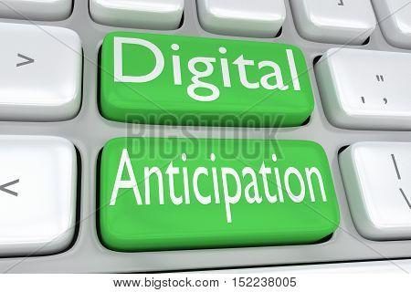 Digital Anticipation Concept