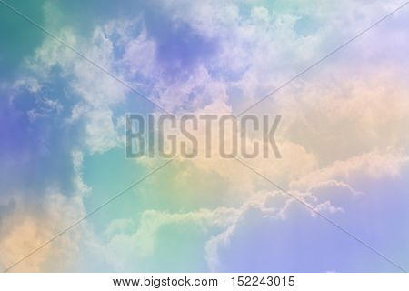 colorful sky and cloud beautiful background, nature background