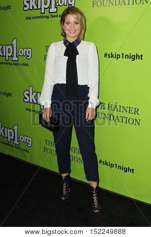 LOS ANGELES - OCT 15:  Candace Cameron-Bure at the Skip1 Night Event at Loews Hollywood on October 15, 2016 in Los Angeles, CA
