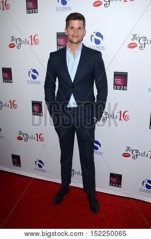 LOS ANGELES - OCT 16:  Charlie Carver at the 16th Annual Les Girls Cabaret at the Avalon Hollywood on October 16, 2016 in Los Angeles, CA