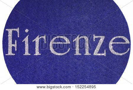 Firenze Written Of An Italian City W