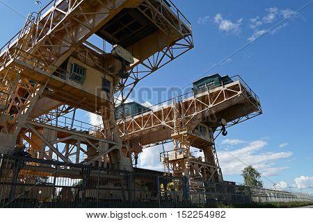 crane, construction, industry, area, site, architecture, equipment, background,