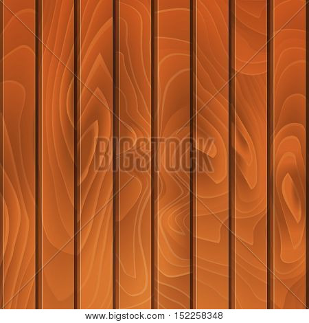 Wood Planked Texture. Vector illustration, wooden background
