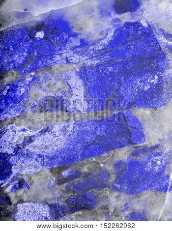 blue jasper texture macro photo