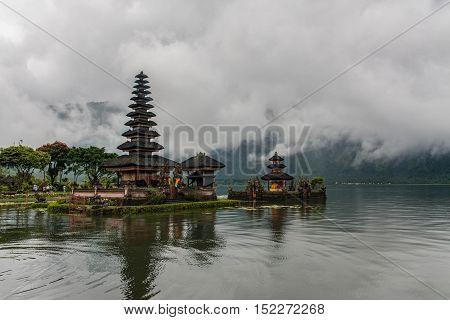 Temple of Pura Ulun Danu Bratan in Bali