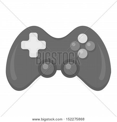 Controller monochrome icon. Illustration for web and mobile.