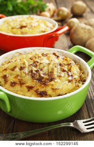 Potato Casserole With Meat