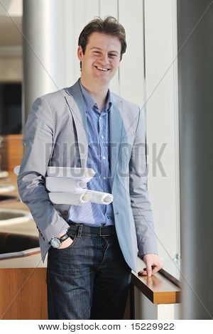 Young Architect Business Man Portrait