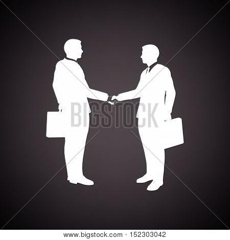 Meeting Businessmen Icon