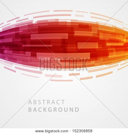 Abstract Geometric Lines Vector Background.