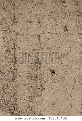 Ancient yellow sand wall texture