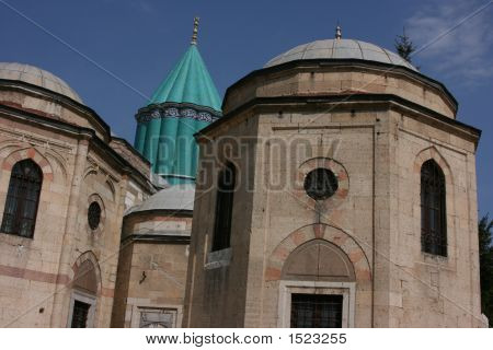 Mosque Of Konya In Turkey