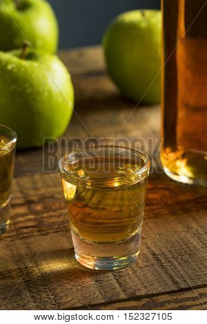 Alcoholic Apple Flavored Bourbon Whiskey