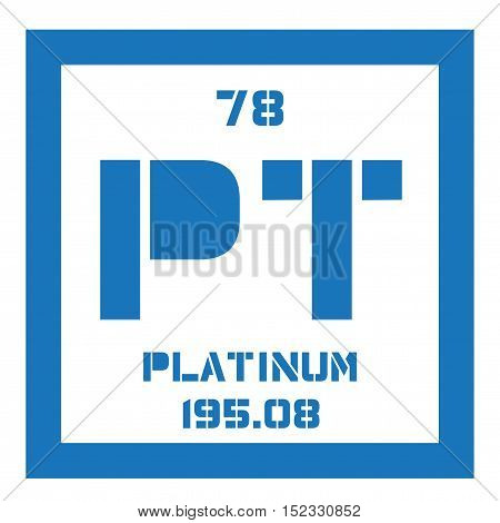 Platinum Chemical Element