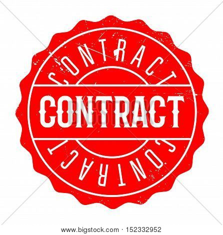 Contract Rubber Stamp