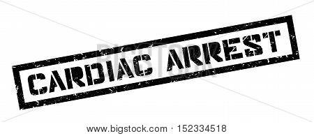 Cardiac Arrest Rubber Stamp