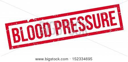 Blood Pressure Rubber Stamp