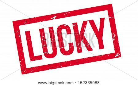 Lucky Rubber Stamp
