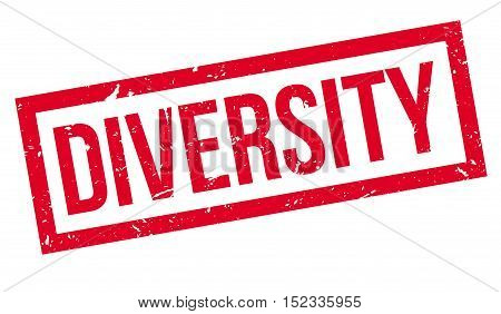 Diversity Rubber Stamp