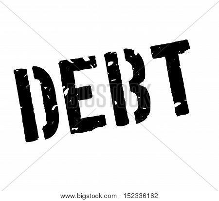 Debt Rubber Stamp