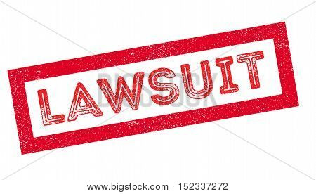 Lawsuit Rubber Stamp