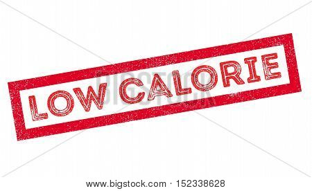 Low Calorie Rubber Stamp