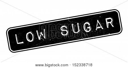 Low Sugar Rubber Stamp
