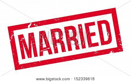 Married Rubber Stamp