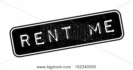 Rent Me Rubber Stamp