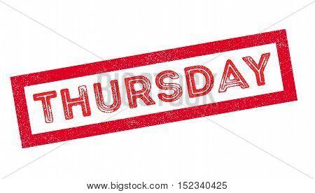 Thursday Rubber Stamp