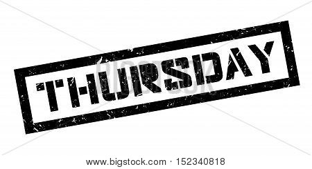 Thursday Rubber Stamp