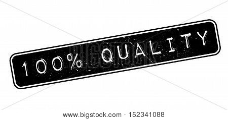100 Percent Quality Rubber Stamp
