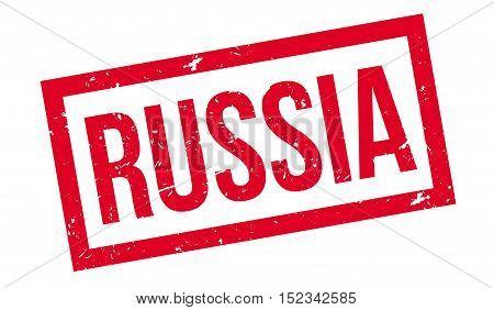 Russia Rubber Stamp