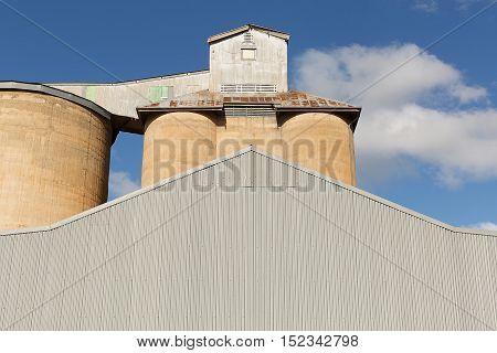 Grain Silos Beckom Nsw