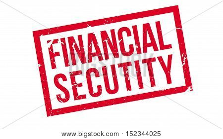 Financial Secutity Rubber Stamp