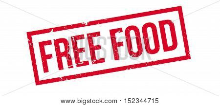 Free Food Rubber Stamp
