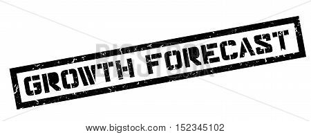 Growth Forecast Rubber Stamp