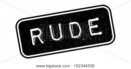Rude Rubber Stamp