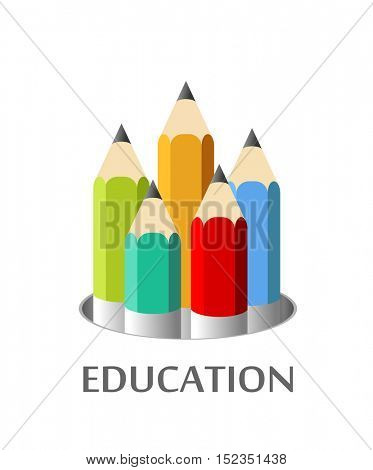 Vector illustration of education concept