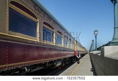 The Excursion Wine Train In Napa Valley, California. Usa