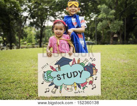 Study Education Academics Concept