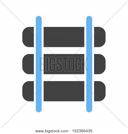 Cowboy, rails, robbery icon vector image.Can also be used for wild west. Suitable for mobile apps, web apps and print media.