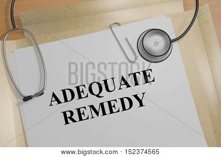 Adequate Remedy Concept