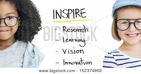 Inspire Education Learn Diagram Concept