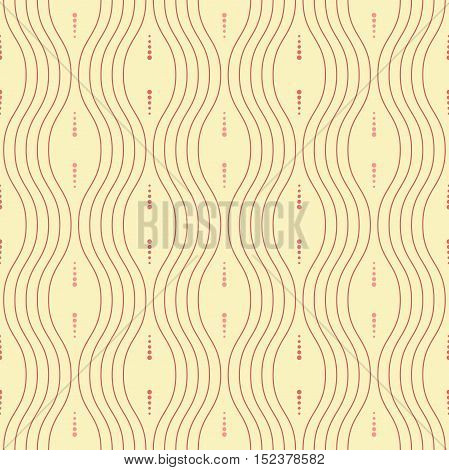 Seamless ornament. Modern geometric colored pattern with repeating elements