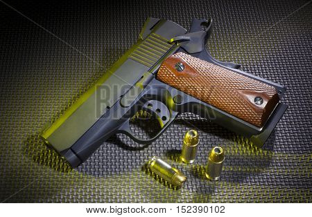 Hollow point bullets with a small semi automatic pistol