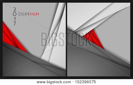 Vector brouchures bright templates set. Elements for design. Magazine, annual reports vector templates. Eps10
