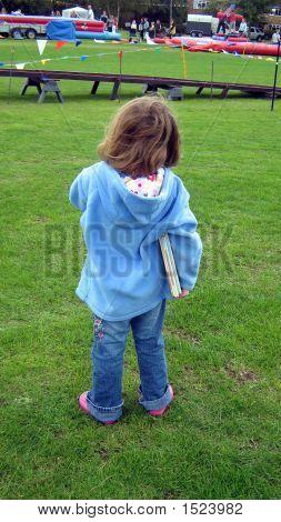 Kind, die Durchführung ihrer Bücher