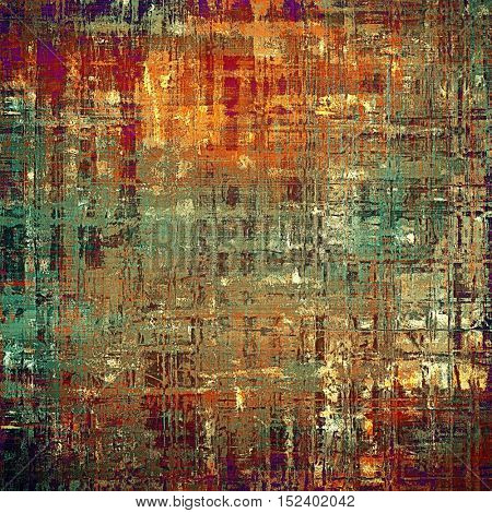 Old crumpled grunge background or ancient texture. With different color patterns: yellow (beige); brown; gray; blue; red (orange); purple (violet)