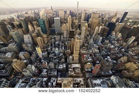 Manhattan Up Town View